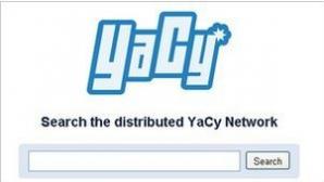 YaCy - поисковая система без центрального сервера